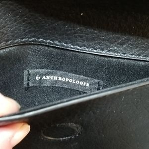 Anthropologie Bags - Anthropologie Black Envelope Small Clutch